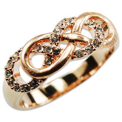Crystalp Infinity Ring
