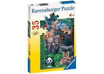 Ravensburger - Animal Kingdom Puzzle 35 pc RB08601-6
