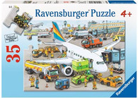Ravensburger - Busy Airport Puzzle 35 pc RB08603-0