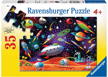 Ravensburger - Space 35 pc Puzzle RB08782-2