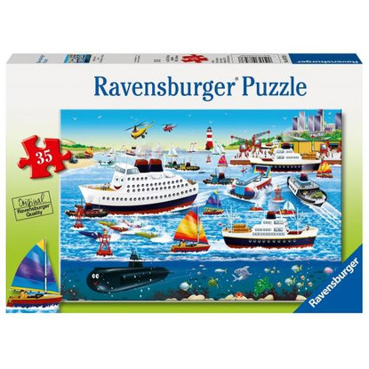 Ravensburger - Happy Harbor Puzzle 35 pc Puzzle RB08793-8