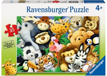Ravensburger - Softies Puzzle 35 pc RB08794-5