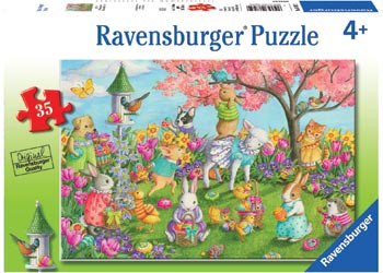 Ravensburger - Egg Hunt Puzzle 35pc RB08795-2