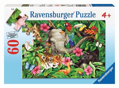 Ravensburger - Tropical Friends Puzzle 60pc RB09533-9