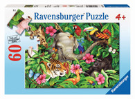 Ravensburger - Tropical Friends Puzzle 60pc RB09533-9
