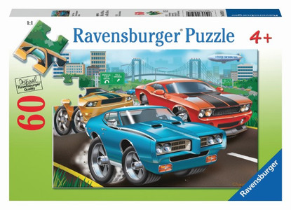 Ravensburger - Muscle Cars Puzzle 60pc RB09591-9