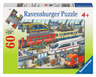 Ravensburger - Railway Station Puzzle 60pc RB09610-7