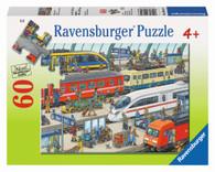Ravensburger - Railway Station Puzzle 60pc RB09610-7