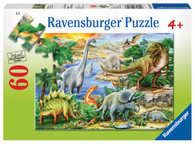 Ravensburger - Prehistoric Life 60pc Puzzle RB09621-3