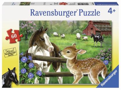 Ravensburger - New Neighbors Puzzle 60 piece RB09625-1
