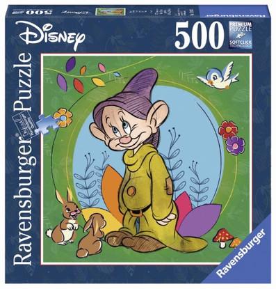Rburg - Disney Dopey Puzzle 500 piece Square - RB15203-2
