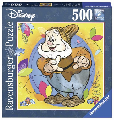 Ravensburger - Disney Happy Puzzle 500 piece Square - RB15242-1 boxed