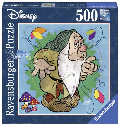 Ravensburger- Disney Sleepy Puzzle 500 piece Square - RB15207-0 boxed
