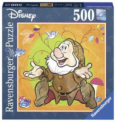 Ravensburger - Disney Sneezy Puzzle 500 piece Square - RB15241-4 boxed