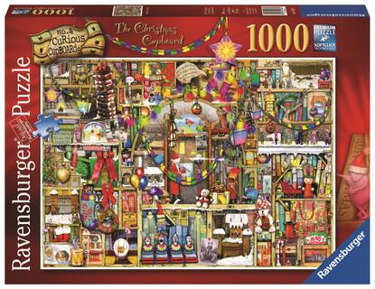 Ravensburger - Christmas Cupboard - Thompson 1000pc - RB19468-1 box