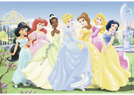 Ravensburger - Disney Princess Gathering Beautiful Princesses Puzzle 2x24pc - RB08872-0 pretty dresses