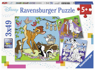 Ravensburger - Disney Friends 3 Puzzle 3x49pc RB08043-4