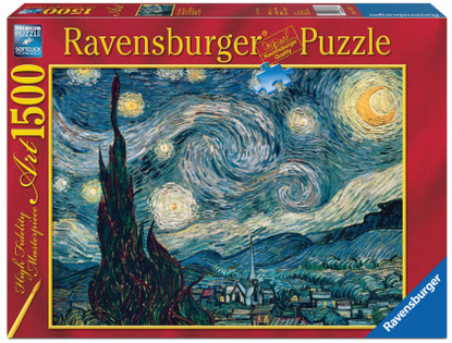 Ravensburger - Van Gogh Starry Night Puzzle 1500pc RB16207-9