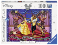 Ravensburger - Disney Moments Beauty and The Beast 1991 1000pc RB19746-0