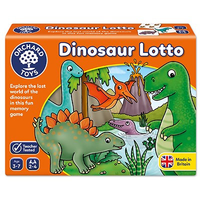 Orchard Toys - Dinosaur Lotto Game OC036N