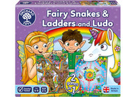 Orchard Toys - Fairy Snakes & Ladders Ludo OC059 box