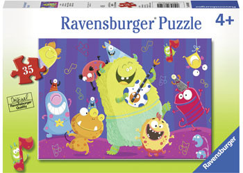 Ravensburger - Giggly Goblins Puzzle 35pc RB08619-1