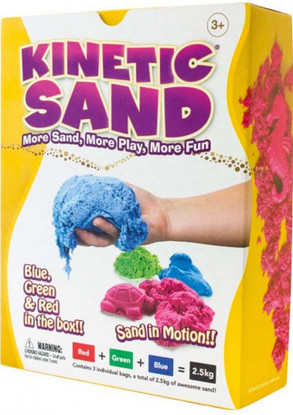 Kinetic Sand - Coloured 2.5 kg