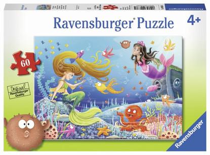 Ravensburger - Mermaid Tales Puzzle 60pc RB09638-1