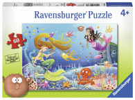 Ravensburger - Mermaid Tales Puzzle 60pc RB09638-1