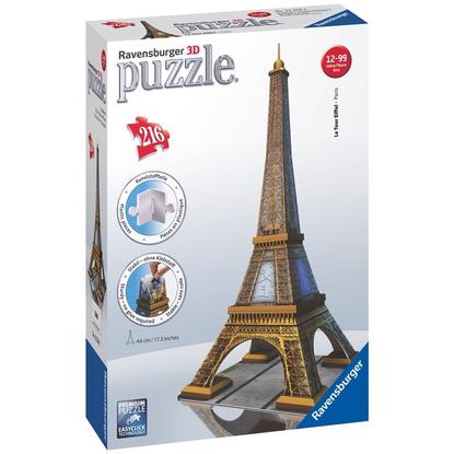 Ravensburger - Eiffel Tower 3D Puzzle 216pc RB12556-2