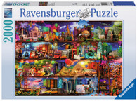 Ravensburger - World of Books Aimee Stewart 2000pc RB16685-5
