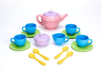 Green Toys - Tea Set 15Pc  Kiozwi.com.au