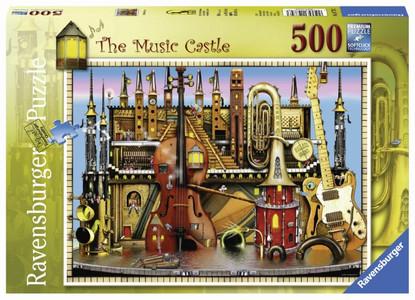 Ravensburger - Music Castle Puzzle 500pc RB14779-3