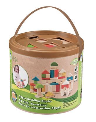 50pcs Building Blocks with Sorter Bucket EverEarth