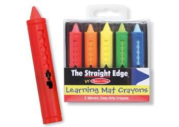 Melissa & Doug - Learning Mat Crayons MND4279