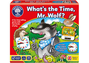 Orchard Toys - What's The Time Mr Wolf? OC049 Box