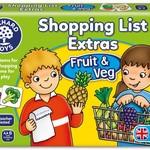 Orchard Game - Shopping List Booster Pack Fruit & Veg OC090