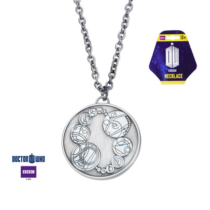 Dr Who Master Ring Pendant Necklace Saxon