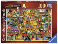 Ravensburger - Awesome Alphabet A Puzzle 1000pc RB19771-2