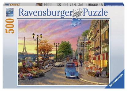Ravensburger - A Paris Evening Puzzle 500pc RB14505-8  box