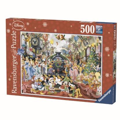 Ravensburger - Disney Christmas Train Puzzle 500pc RB14739-7