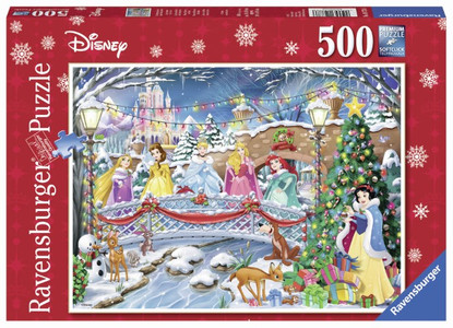 Ravensburger - Disney Princess Christmas Puzzle 500pc RB14778-6