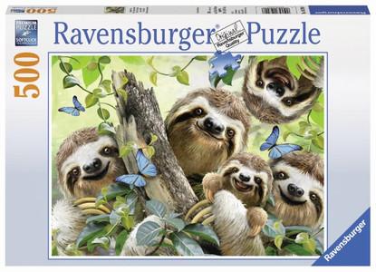 Ravensburger - Sloth Selfie Puzzle 500pc RB14790-8
