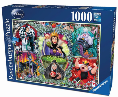 Ravensburger - Disney Wicked Women Puzzle 1000pc RB19252-6