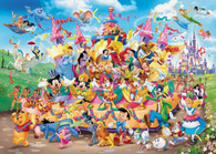 Ravensburger - Disney Carnival Characters Puzzle 1000pc RB19383-7  picture
