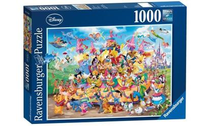 Ravensburger - Disney Carnival Characters Puzzle 1000pc RB19383-7  box