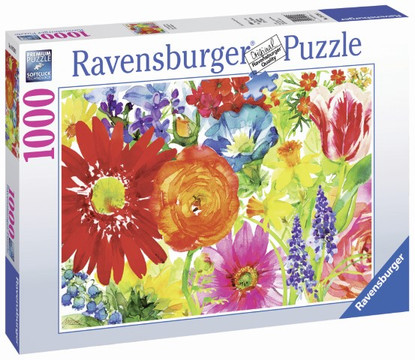Ravensburger - Abundant Blooms Puzzle 1000pc RB19729-3
