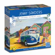 Blue Opal - Bathing Sheds Kombi 1000 piece Puzzle Jenny Sanders BL02005