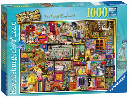 Ravensburger - The Craft Cupboard Puzzle 1000pc RB19412-4