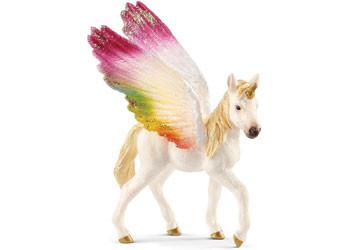 Schleich - Winged Rainbow Unicorn Foal SC70577 (4055744020438)